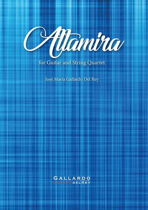 José María Gallardo Del Rey - Altamira for strings quartet and guitar