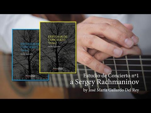 Estudio de Concierto nº1 a Serguéi Rachmaninov by José María Gallardo Del Rey