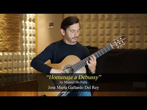 """""""Homenaje a Debussy"""" by Manuel De Falla. José María Gallardo Del Rey"""