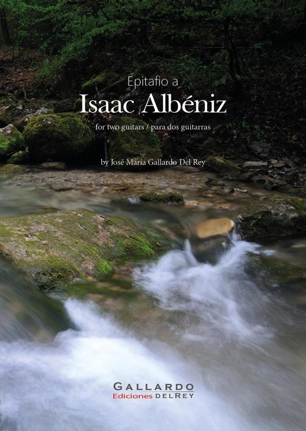 Gallardo Del Rey Ediciones. Epitafio a Isaac Albéniz. Portada
