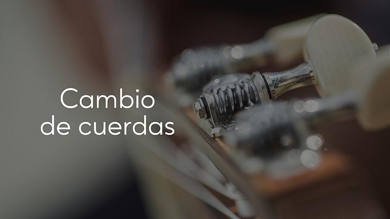 Spanish Guitar Academy. Consejo: Cambio de cuerdas.