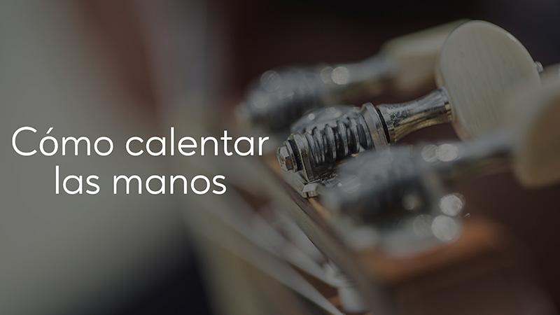 Spanish Guitar Academy. Consejo: Cómo calentar las manos