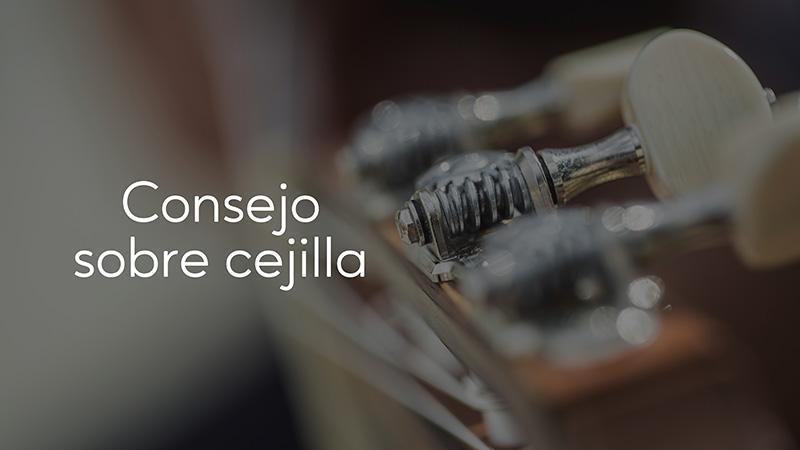Spanish Guitar Academy. Consejo: Consejo sobre cejilla.