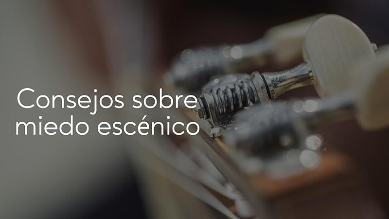 Spanish Guitar Academy. Consejo: Consejos sobre miedo escénico.