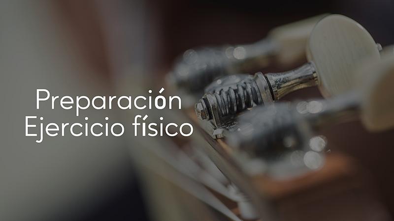 Spanish Guitar Academy. Consejo: Ejercicio Físico.