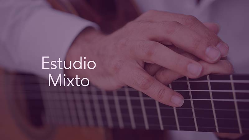 Spanish Guitar Academy. Consejo: Estudio mixto.
