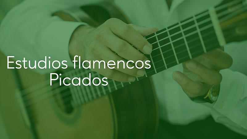 Spanish Guitar Academy. Estudios Flamencos: Picados.
