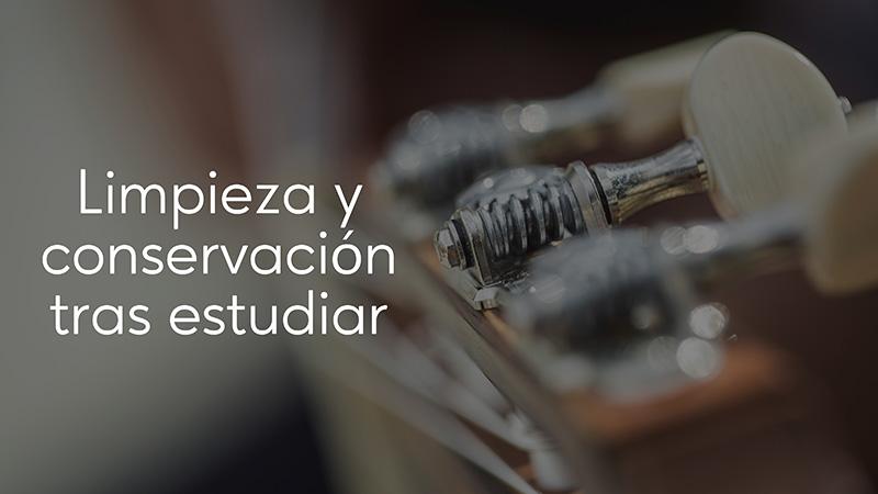 Spanish Guitar Academy. Consejo: Limpieza y conservación tras estudiar