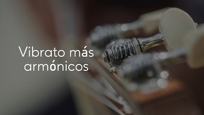 Spanish Guitar Academy. Consejo: Vibrato más armónicos.