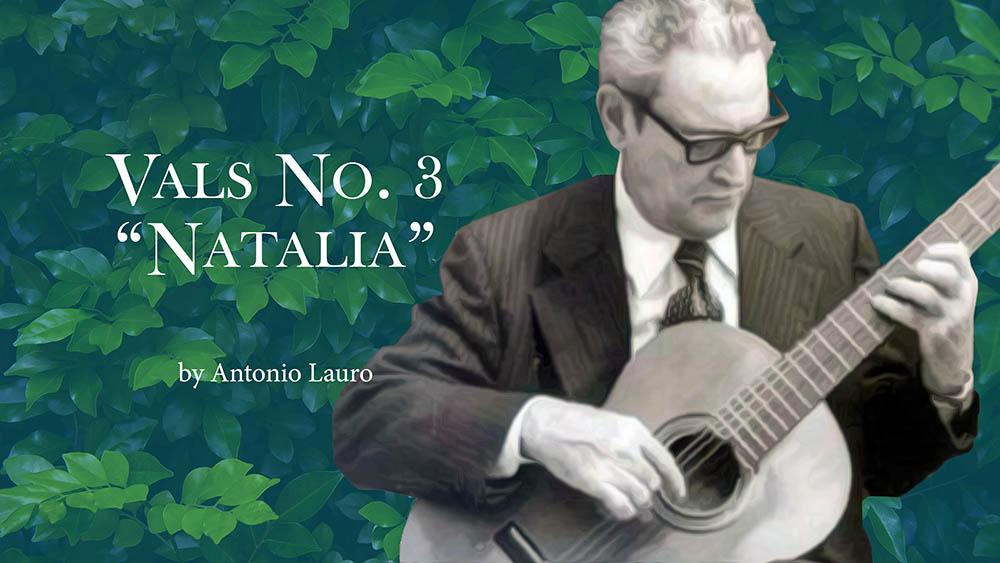Valses Venezolanos de Antonio Lauro. José María Gallardo Del Rey